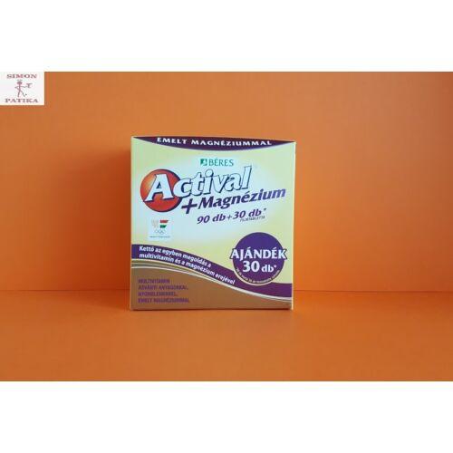 Actival Plus Magnézium filmtabletta 120db