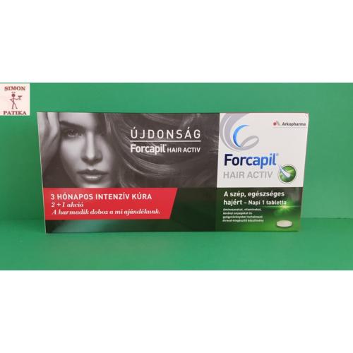 Forcapil Hair Activ tabletta  3x30db