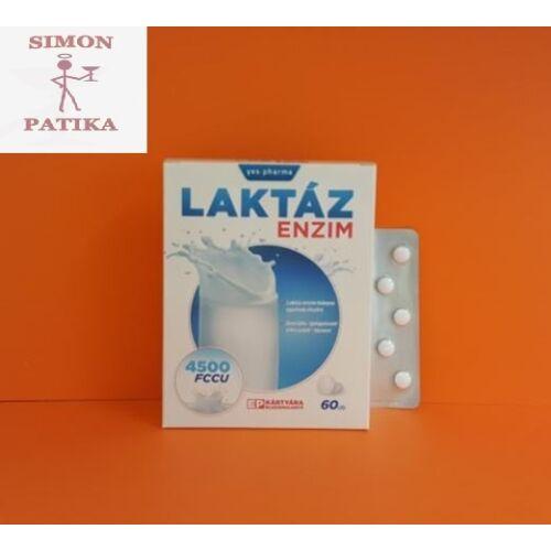 Yes.pharma Laktáz Enzim rágótabletta 60db