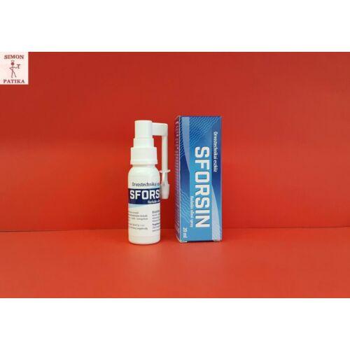 Sforsin horkolás elleni spray 20ml