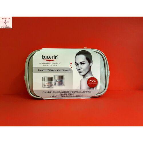 Eucerin Hyaluron-Filler csomag nappali+éjszakai száraz bőr