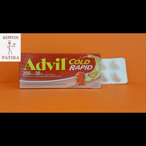 Advil Cold Rapid lágy kapszula 20db