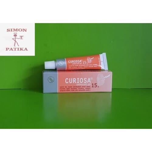 Curiosa sebkezelő gél 15g