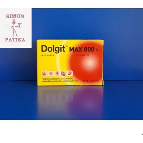 Dolgit Max 800 mg filmtabletta 20db