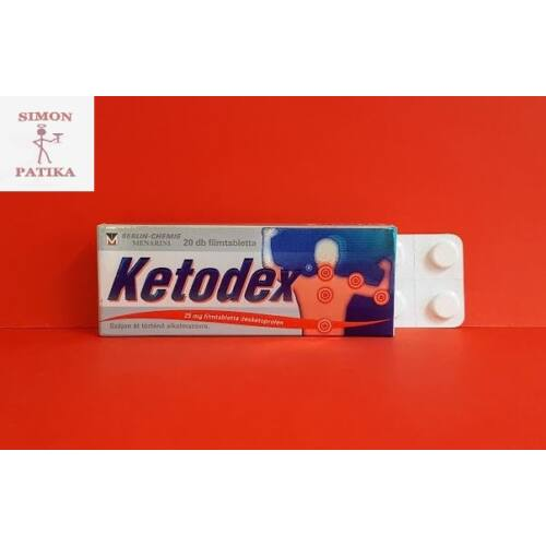 Ketodex 25 mg filmtabletta 20db
