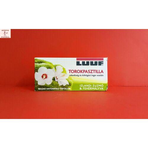 Luuf izlandi zuzmó-mályva torokpasztilla 20db