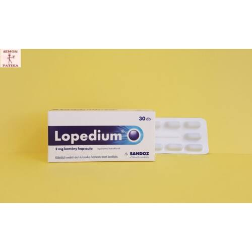Lopedium 2 mg kemény kapszula 30db
