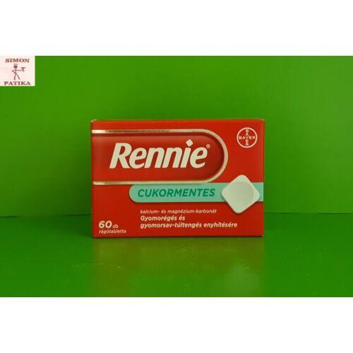 Rennie cukormentes rágótabletta 60db