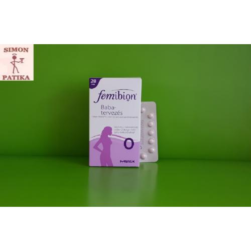 Femibion 0 Babatervezés tabletta 28db