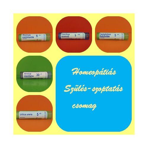 Homeopátiás Szülés- szoptatás csomag