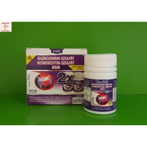 JutaVit Glükozamin Kondroitin MSM filmtabletta 144x