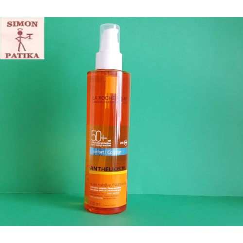 ANTHELIOS napvédő olaj SPF50+     200ml