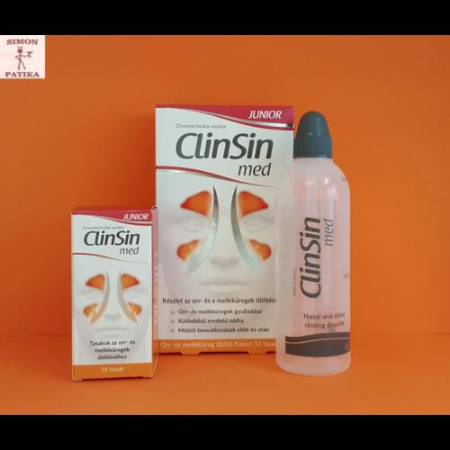 ClinSin Med Junior orr és melléküreg öblítő készlet