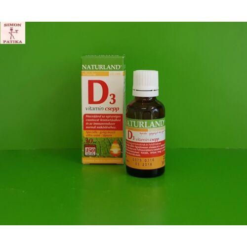 Naturland D3 vitamin csepp 30 ml