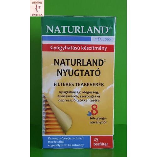 Naturland Nyugtató teakeverék filteres 25x