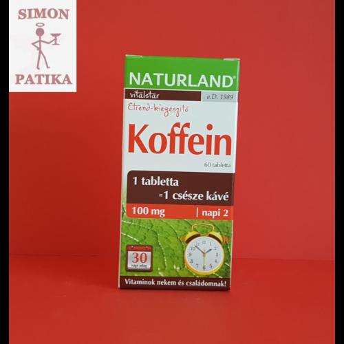 Naturland Koffein tabletta 60db