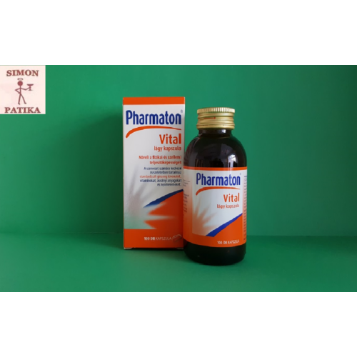 Pharmaton Vital lágy kapszula 100db