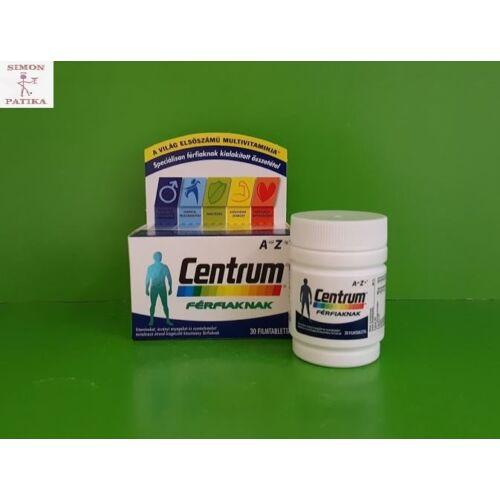 Centrum vitamin A-Z-ig filmtabletta férfiaknak 30db