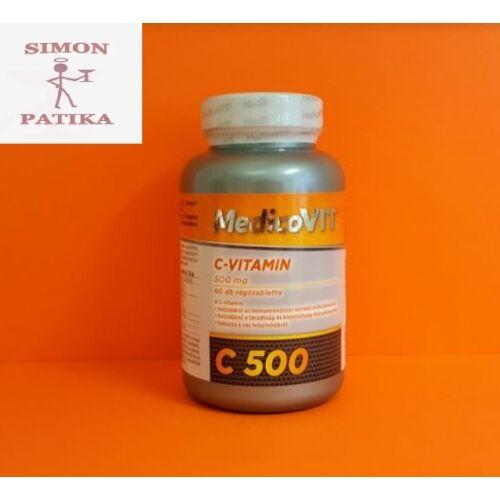 MedicoVit C-vitamin  500 mg rágótabletta 60db