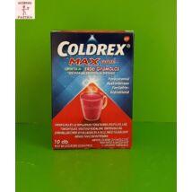 Coldrex Maxgrip mentol és erdei gyümölcs ízű por belsőleges oldathoz 10db