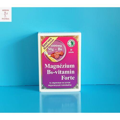 Magnézium B6 vitamin Forte tabletta DR.CHEN 30db