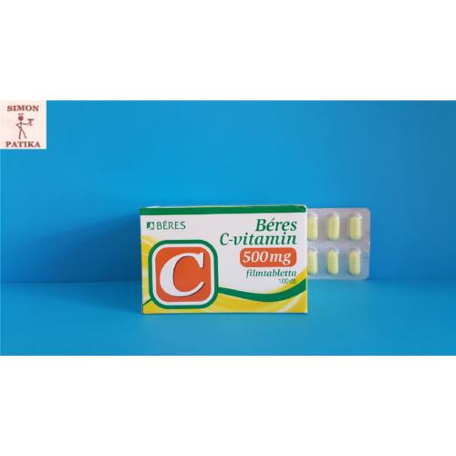 Béres C-vitamin 500mg filmtabletta  100db