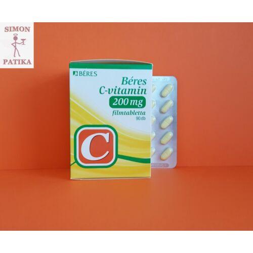 Béres C-vitamin 200mg filmtabletta  90db