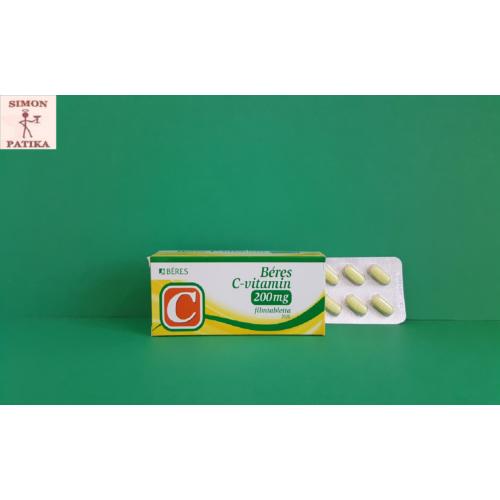 Béres C-vitamin 200mg filmtabletta  20db