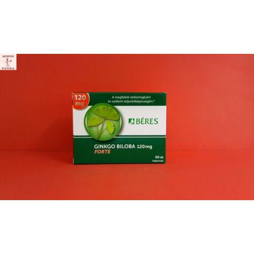 Béres Ginkgo Biloba 120 mg Forte kapszula 60db