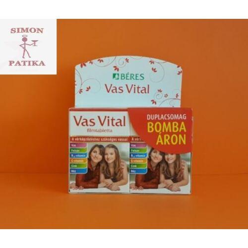 Béres Vas Vital tabletta 2x30db
