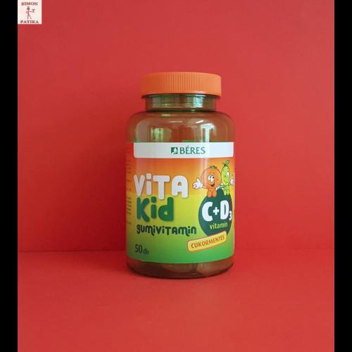 Béres Vitakid C+D3 gumivitamin gumitabletta