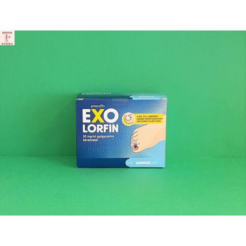 Exolorfin 50 mg/ml körömlakk