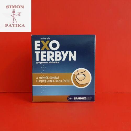 Exoterbyn gyógyszeres körömlakk 3,3ml