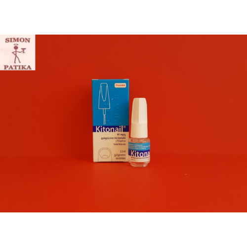 Kitonail 80mg/g gyógyszeres körömlakk 3,3ml