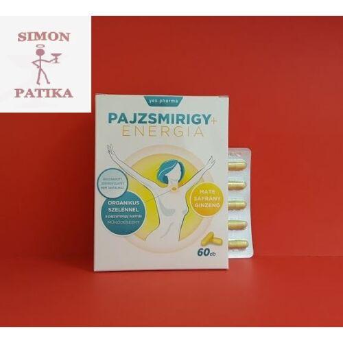Yes.pharma Pajzsmirigy+Energia kapszula