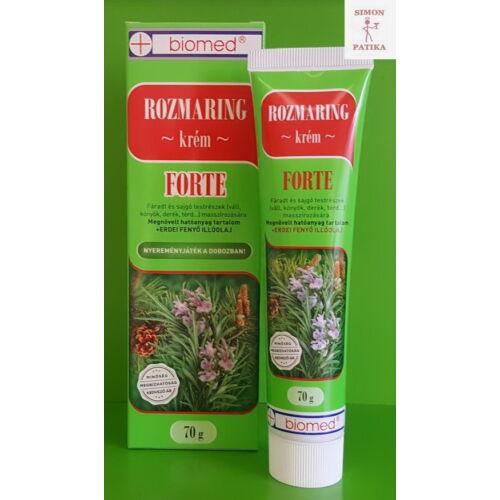 Biomed Rozmaring Forte krém 70g