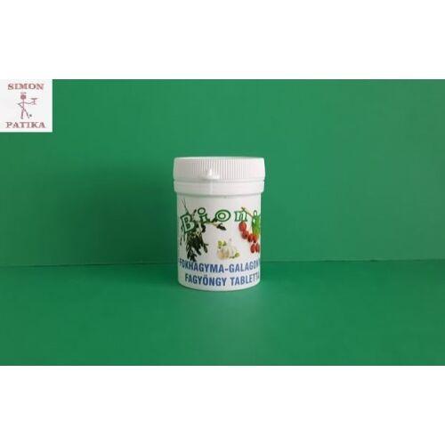 Bionit fokhagyma-galagonya-fagyöngy tabletta