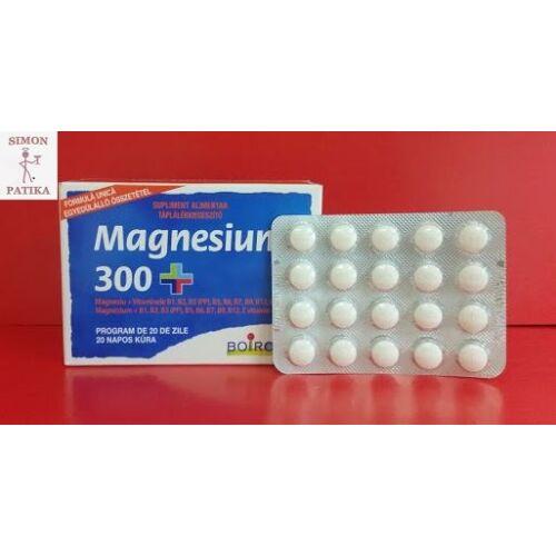 Magnesium 300+ tabletta 80x
