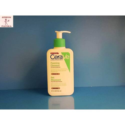 CeraVe Habzó tisztító gél 236 ml