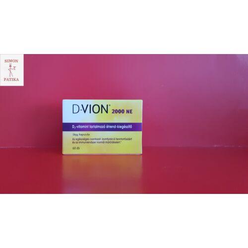 D-Vion D3 2000NE kapszula 60db