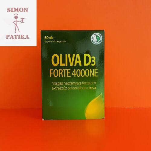 Oliva D3 vitamin 4000NE Forte kapszula DR.CHEN