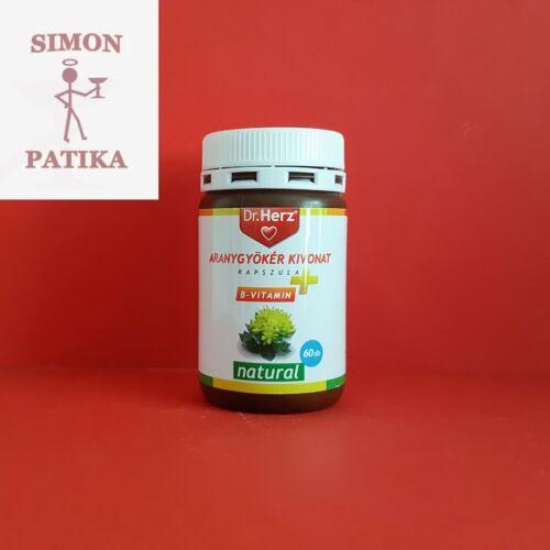 Dr.Herz Aranygyökér+B-vitamin kapszula 60db
