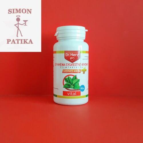 Dr.Herz Gymnema Sylvestre+Szerves Króm tabletta 90db