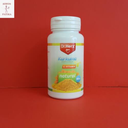 Dr.Herz Kurkuma C-vitamin kapszula 60db