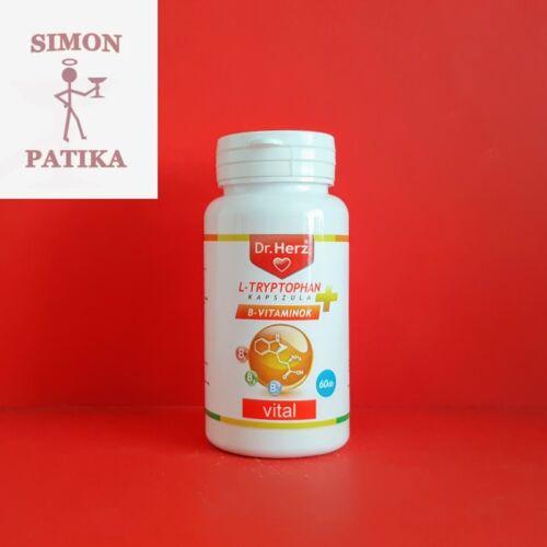 Dr.Herz L-Tryptophan B vitamin kapszula 60db