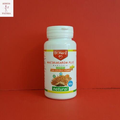 Dr.Herz Macskakarom +Szerves Cink Szelén C vitamin 60db