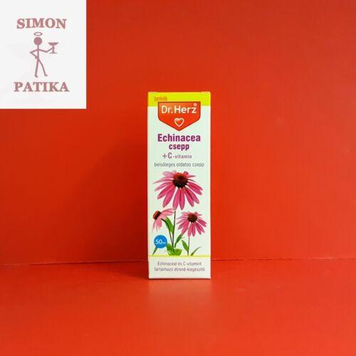 Dr.Herz Echinacea csepp + C-vitamin 50ml