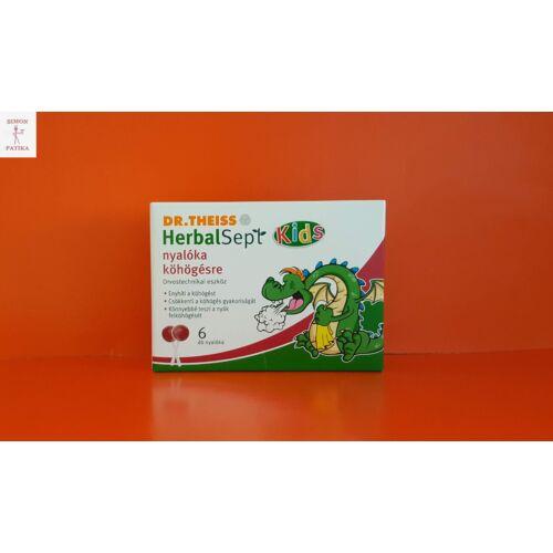 Dr.Theiss HerbalSept nyalóka köhögésre 6db