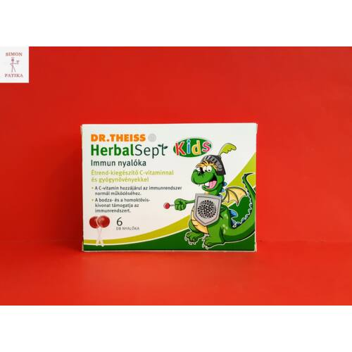 Dr.Theiss HerbalSept Immun nyalóka 6db