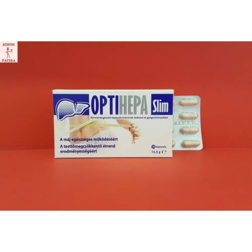 Optihepa Slim Króm Kolin gyógynövény kapszula